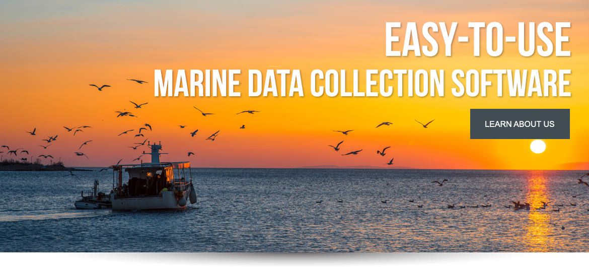 Easy to use marine data collection software